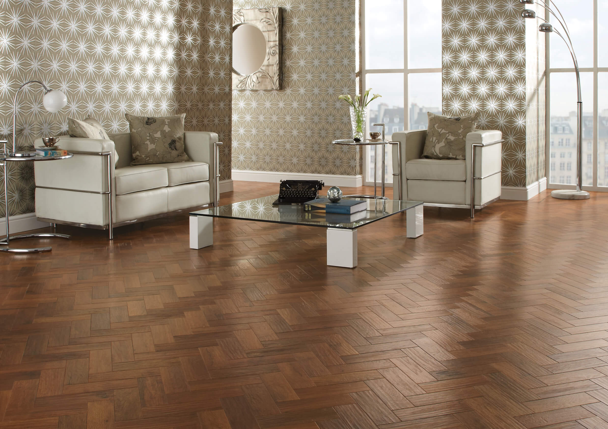 Karndean art select vinyl flooring in auburn oak ap02 for Parquet flooring