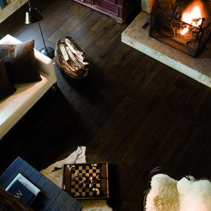 Quickstep Elite Laminate Flooring In Old White Oak Dark Ue1496