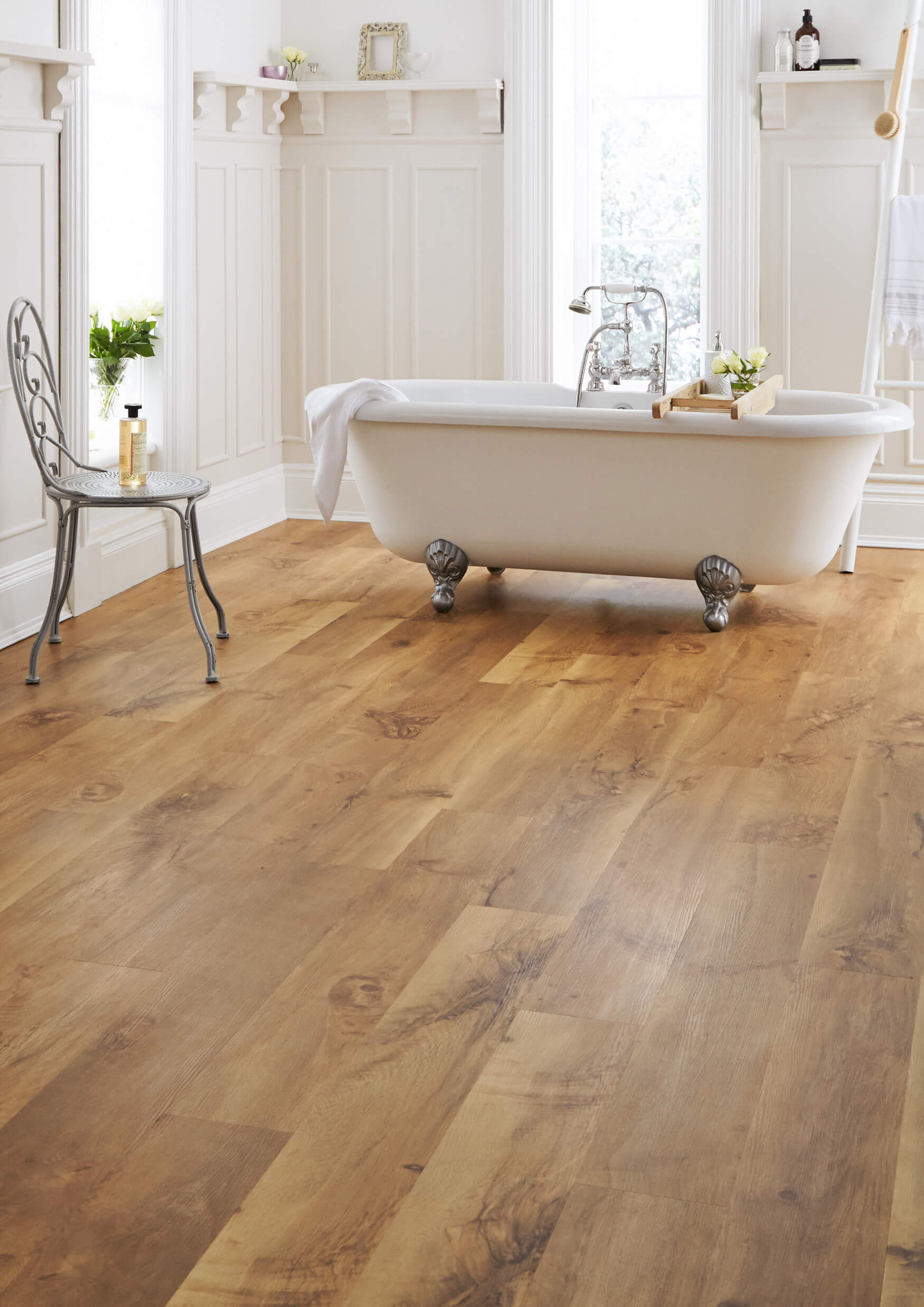 Bathroom vinyl flooring tiles