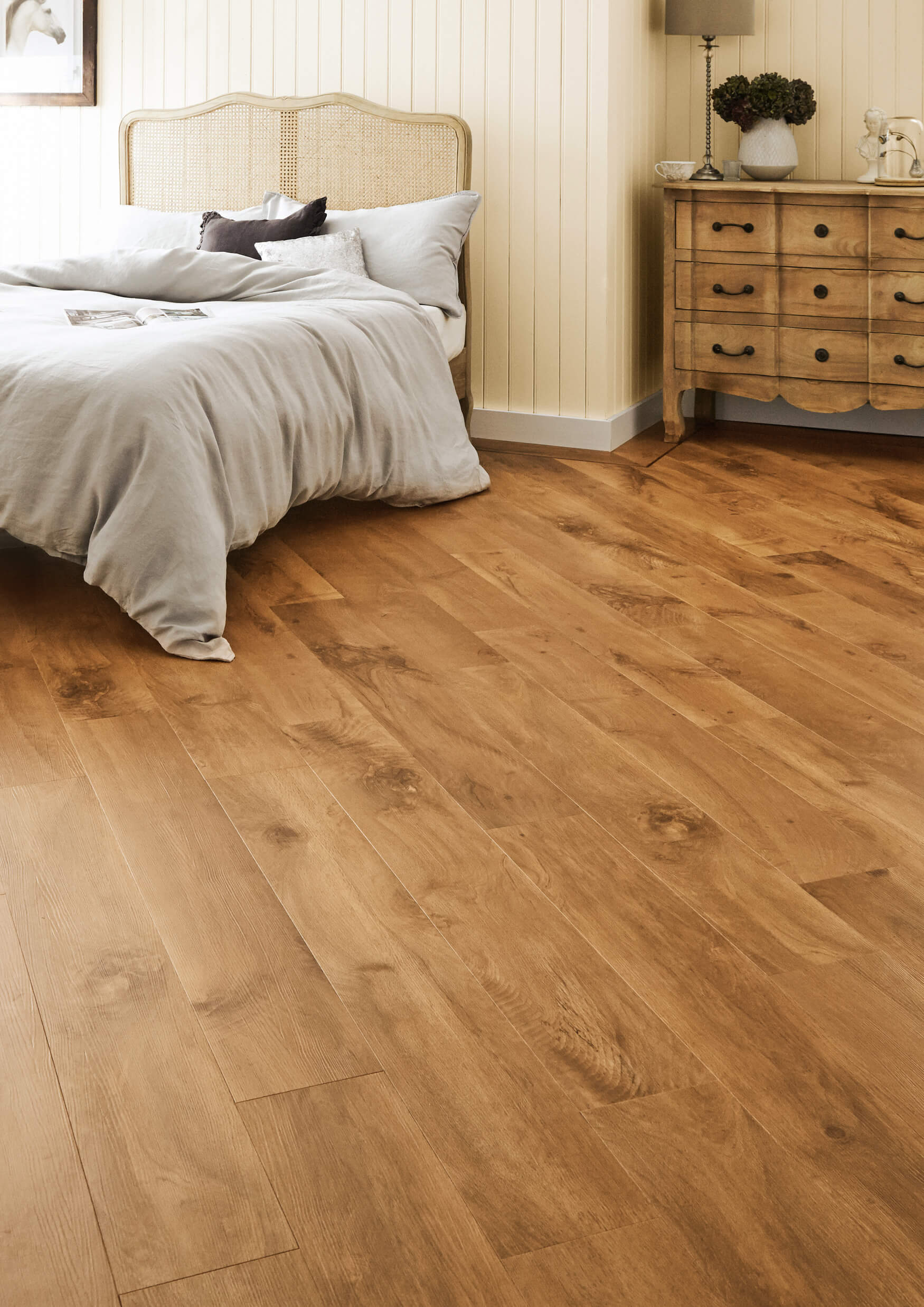 Karndean Van Gough Vinyl Flooring In Wellington Oak Vgw53t