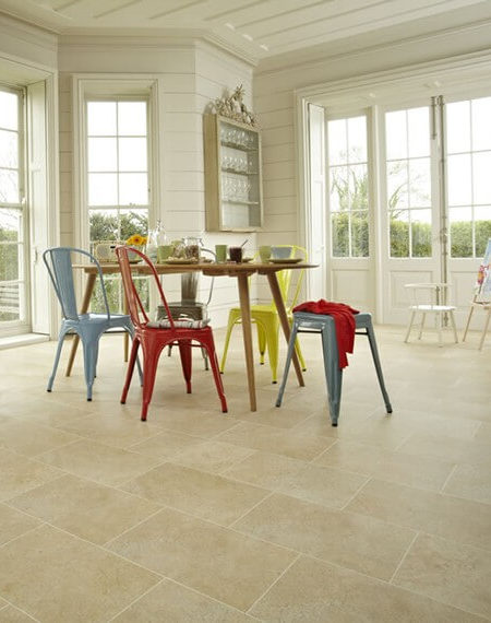 Karndean vinyl floor tiles