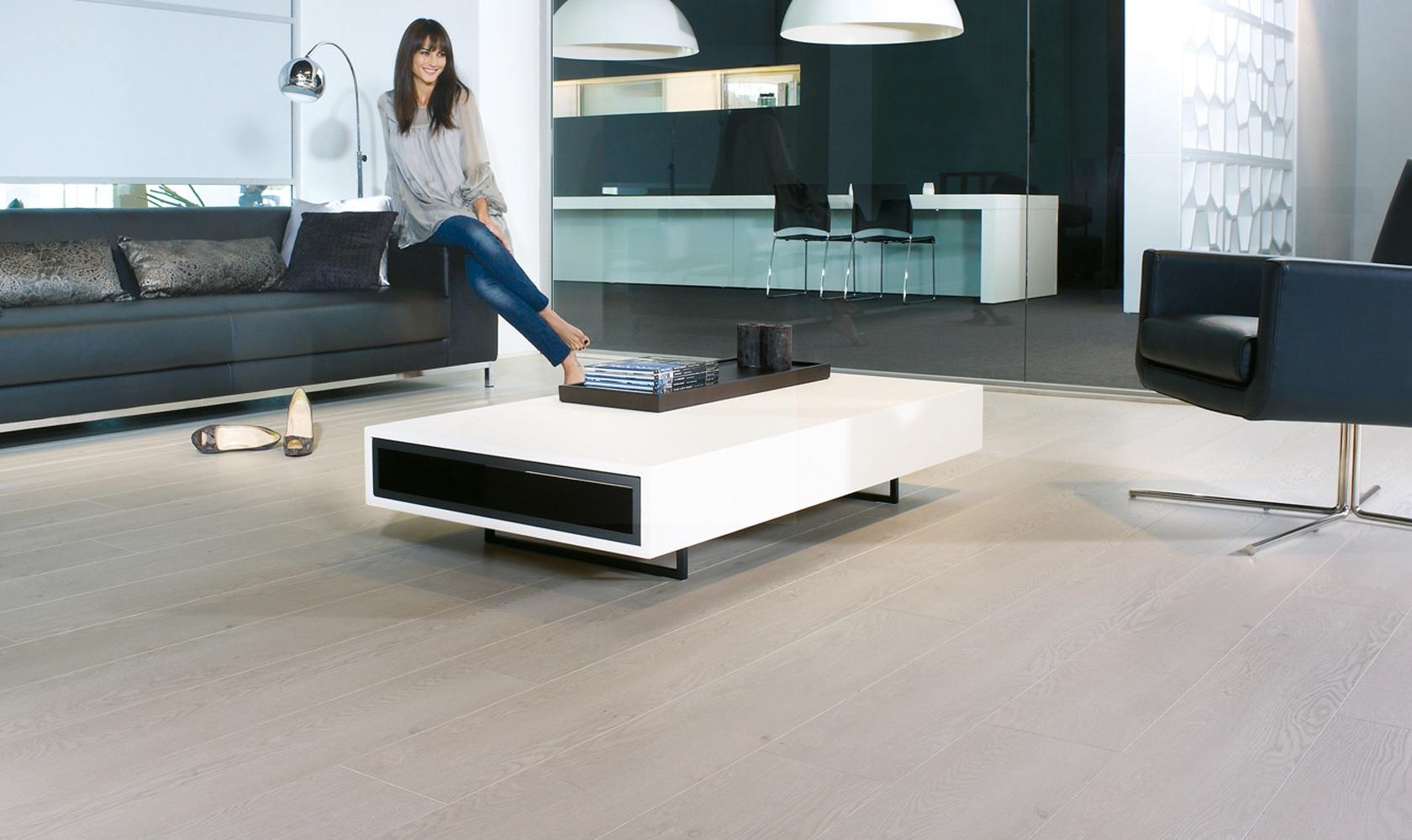 Laminated Flooring Off White : Balterio luxury laminate flooring magnitude off white