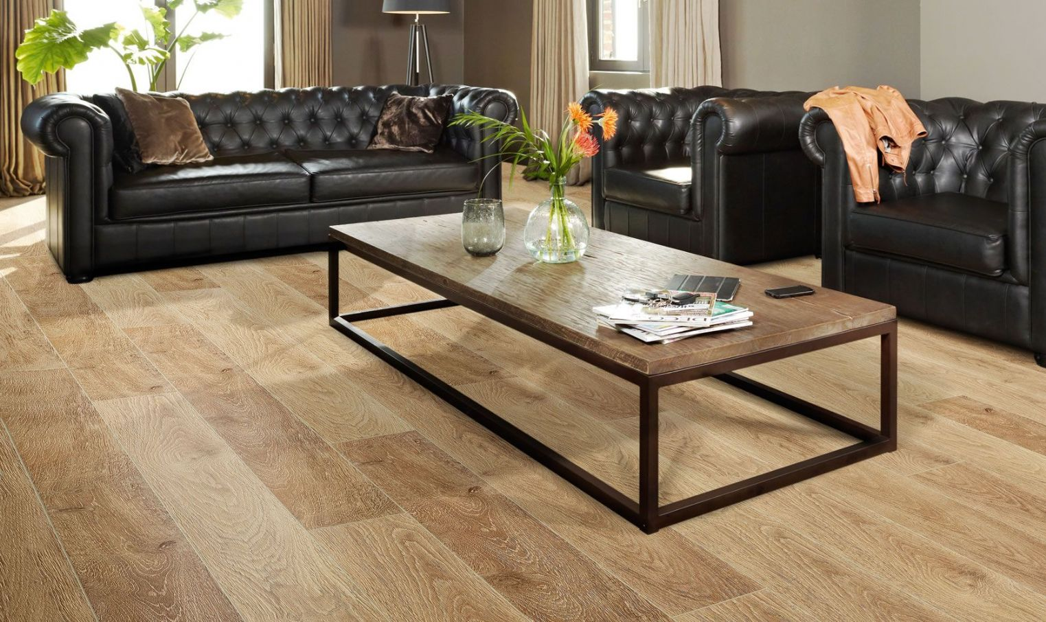 Balterio luxury laminate flooring tradition quattro simba for Luxury laminate